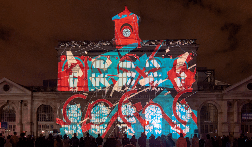 En mars, c'est le grand retour du Video Mapping Festival !
