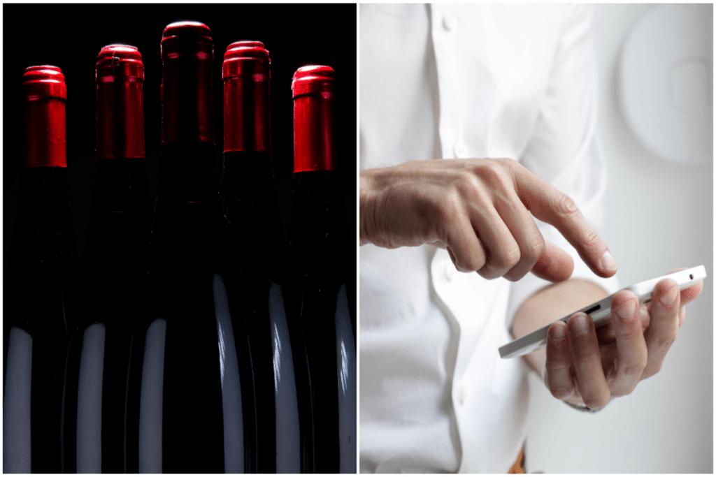 L'application Vinidaily vous fait matcher avec des bouteilles de vin !
