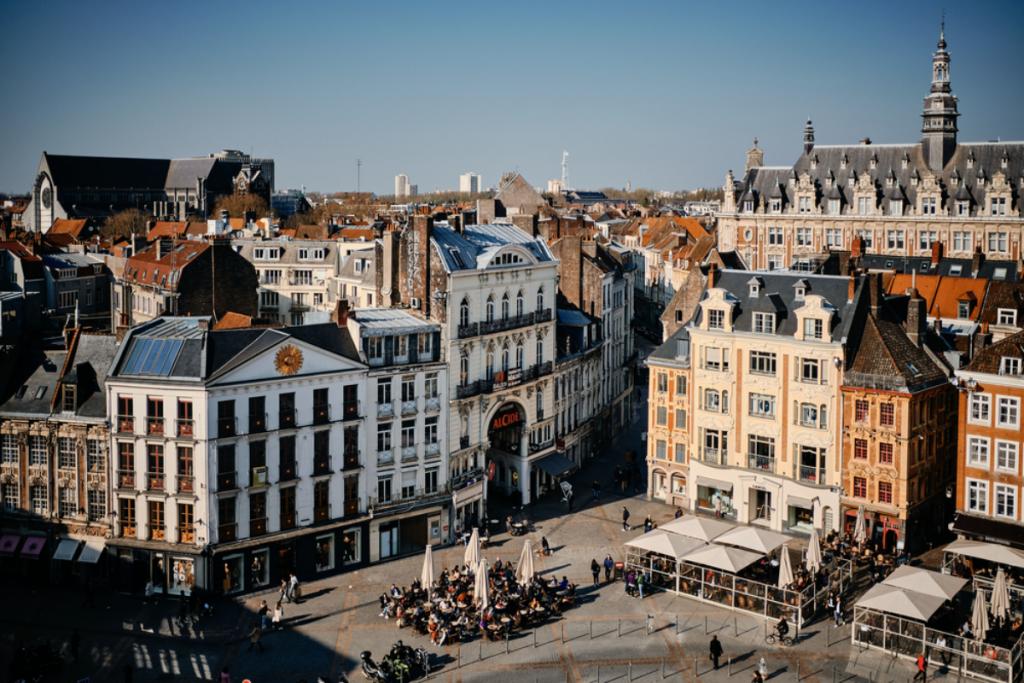 Lille : cette carte interactive calcule le prix de l'immobilier par quartier !