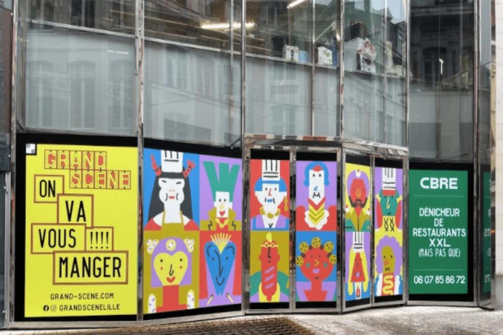 Grand Scène, nouveau temple de la street-food, régalera bientôt les lillois !