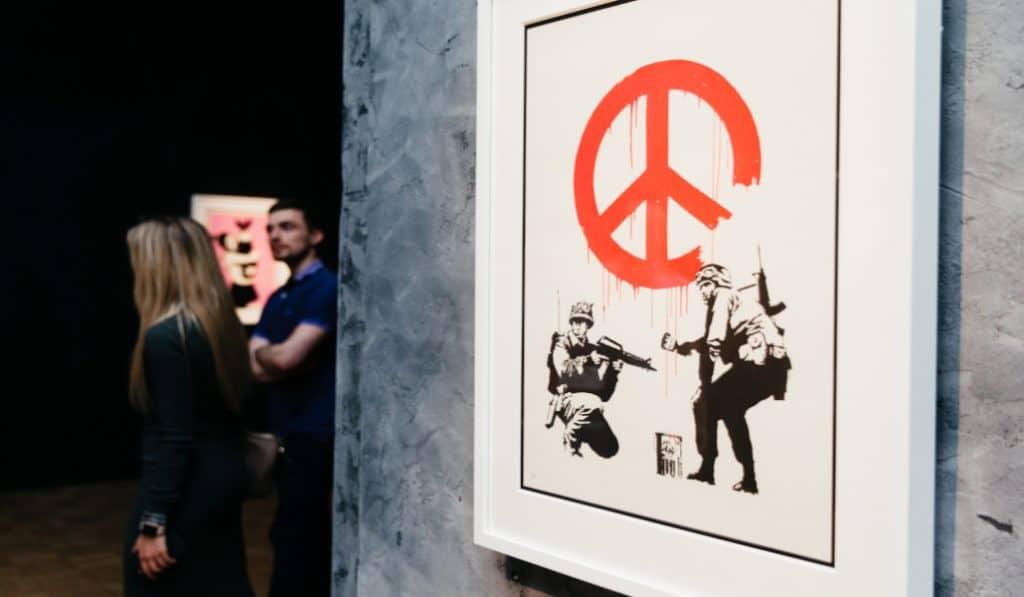 Une nouvelle exposition sur Banksy débarque bientôt à Bruxelles !