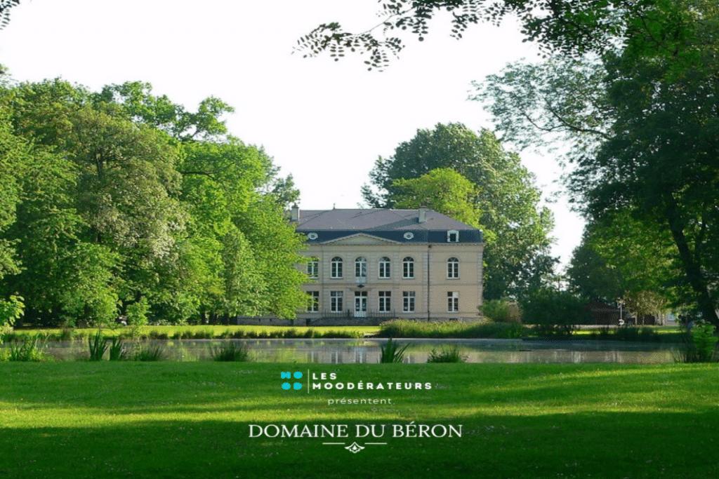 Bientôt au Domaine du Béron : un Dj set en open air !