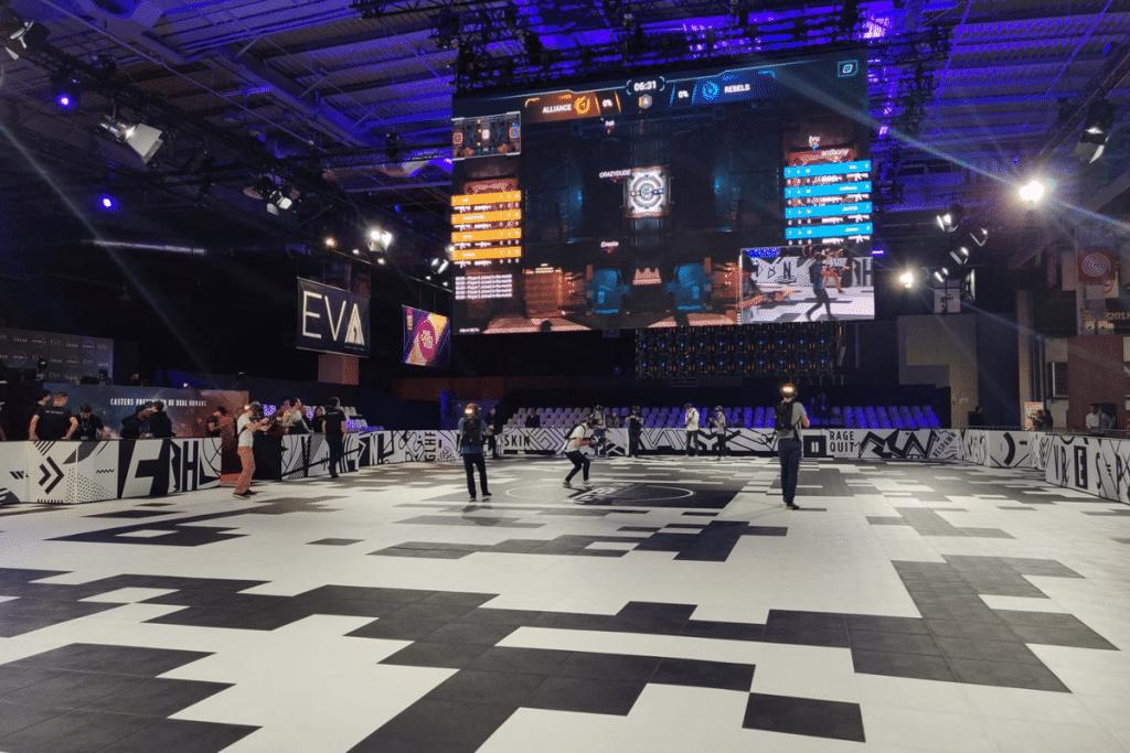 Une gigantesque Salle de Réalité Virtuelle débarque àLille !