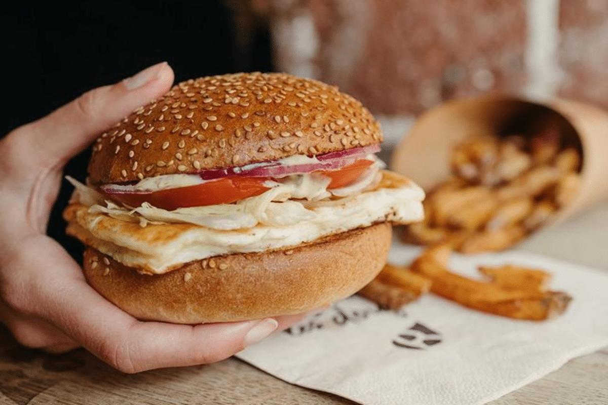 Le Burger Halloumi de Bioburger