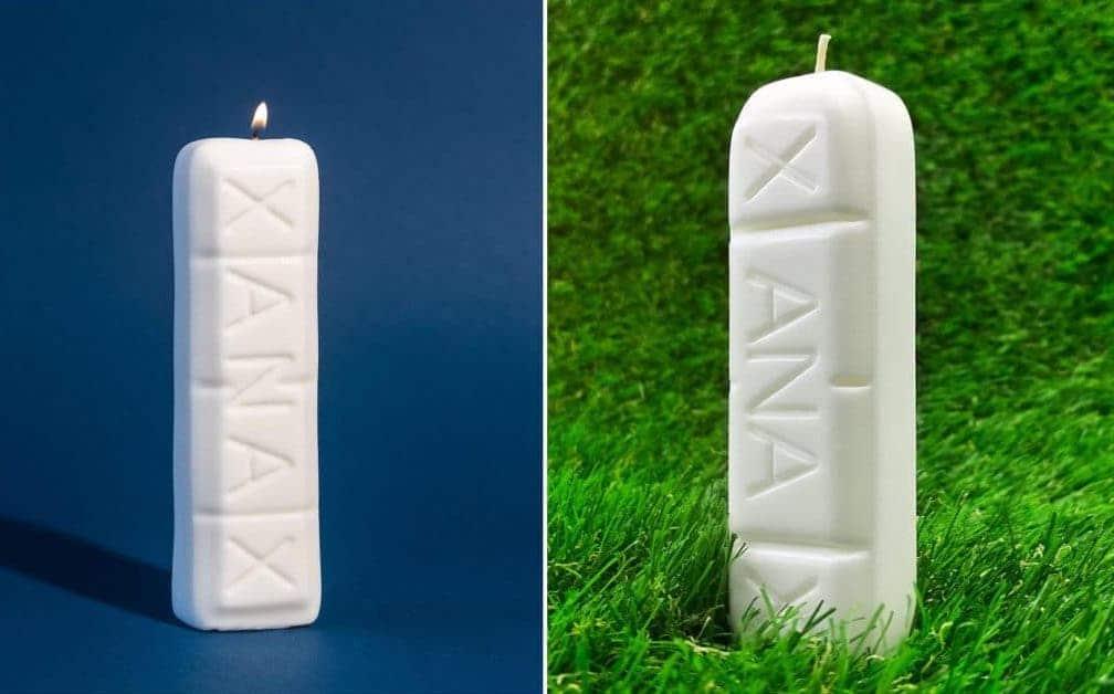 Insolite : une bougie parfumée Xanax pour se détendre après une journée bien pourrie !