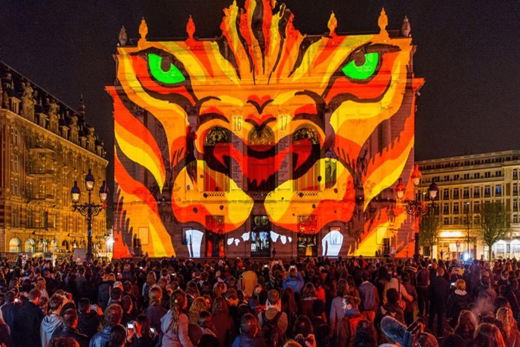 Le Video Mapping Festival illuminera bientôt les monuments emblématiques de Lille !