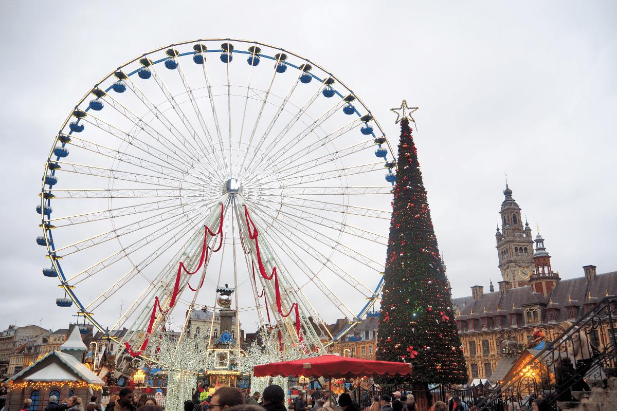 La Grand Roue de Noël sur Grand Place