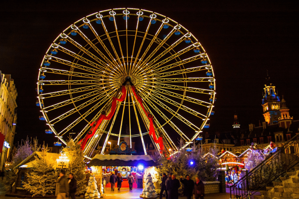 Le Village de Noël fait son retour à Lille cette année !