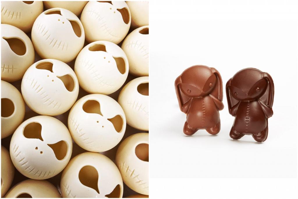 chocolats d'Halloween par Quentin Bailly