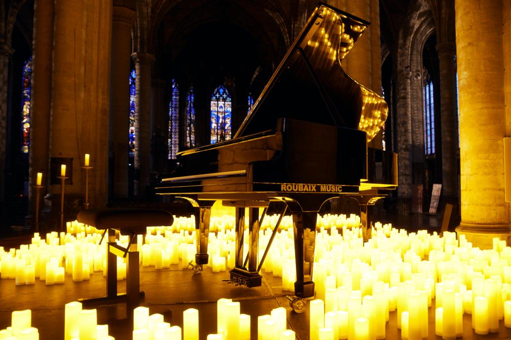 Les concerts à la bougie résonneront dans l'Église Saint-Maurice cet automne !