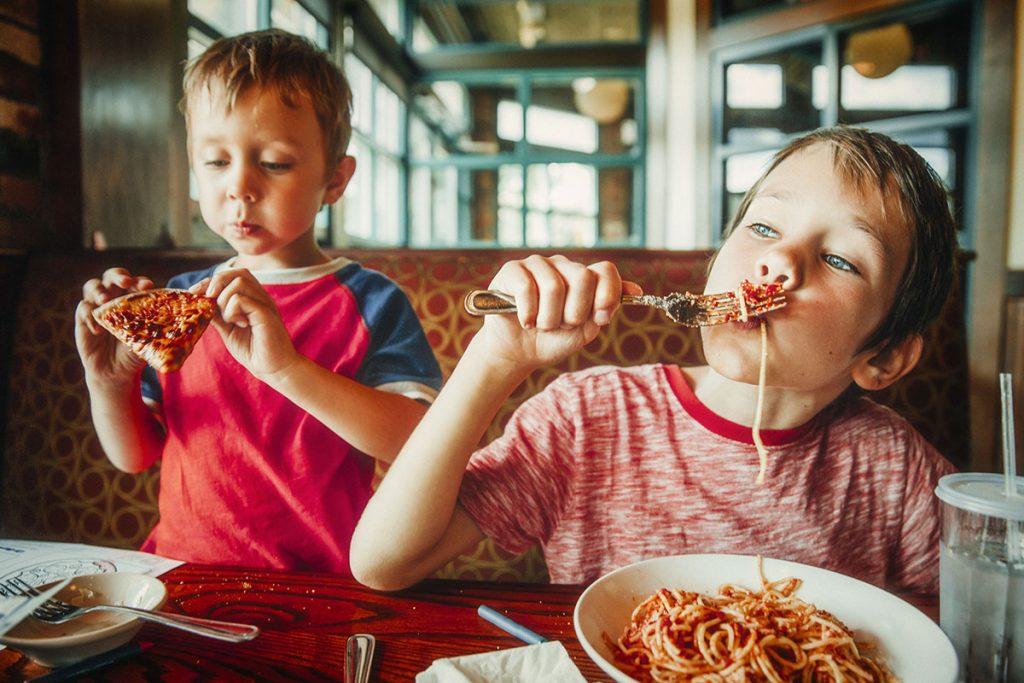 4 restaurantes onde as crianças não fazem birras para comer