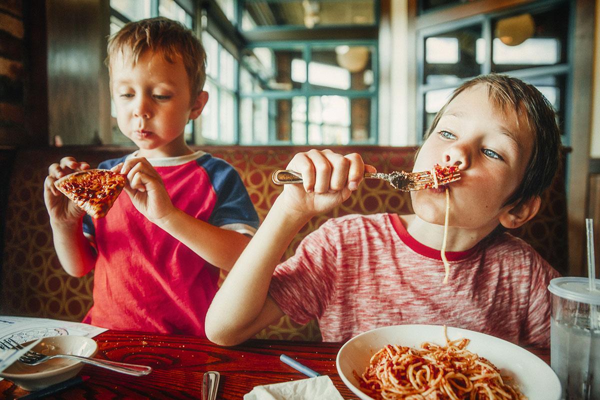 5 lugares para ir comer com as crianças
