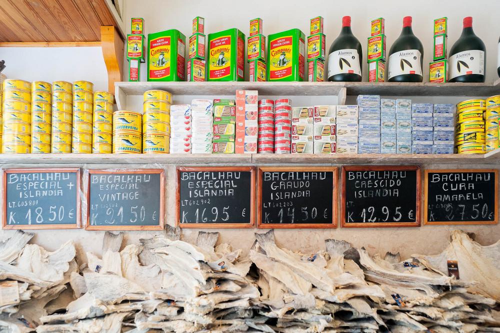 Bacalhau, o típico prato português