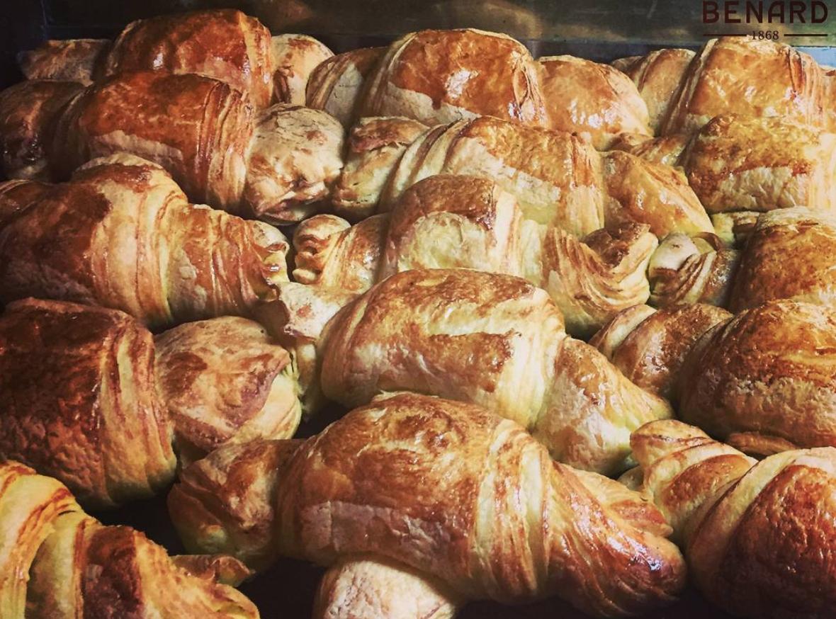 Os croissants da Benard são de comer e chorar por mais