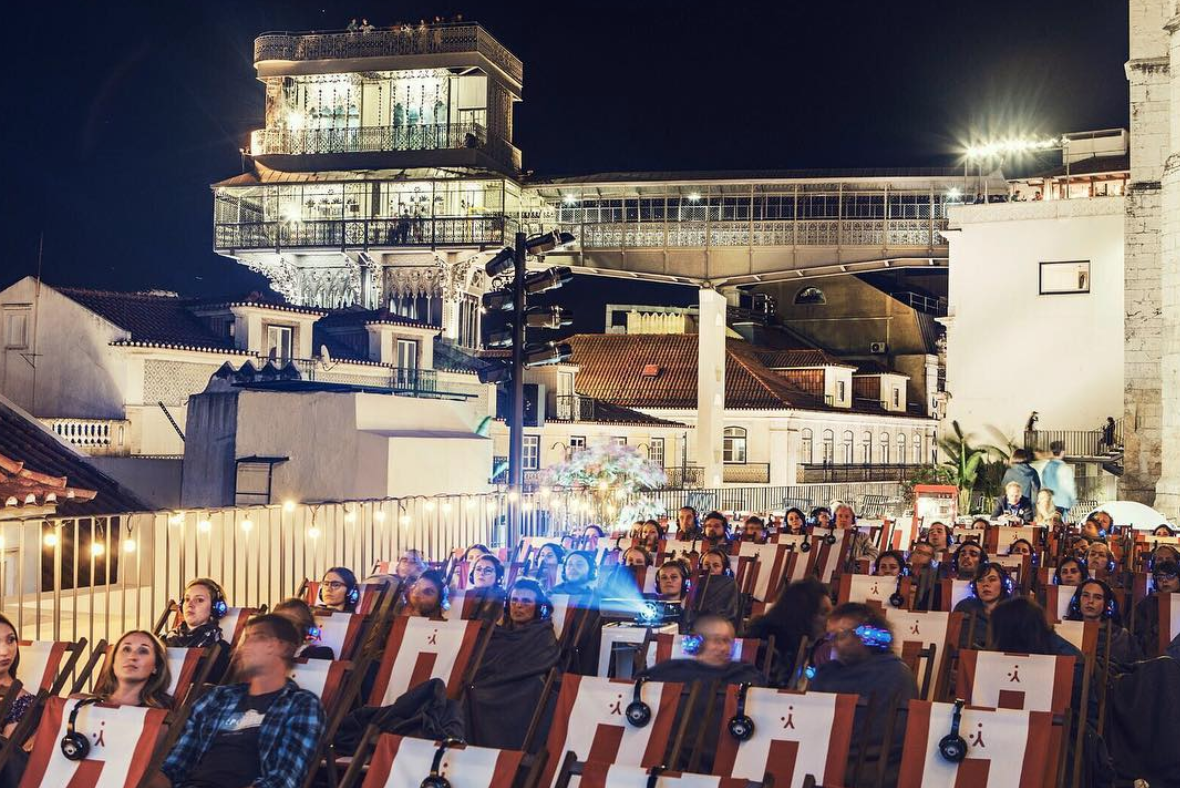 Há cinema nos terraços de Lisboa!