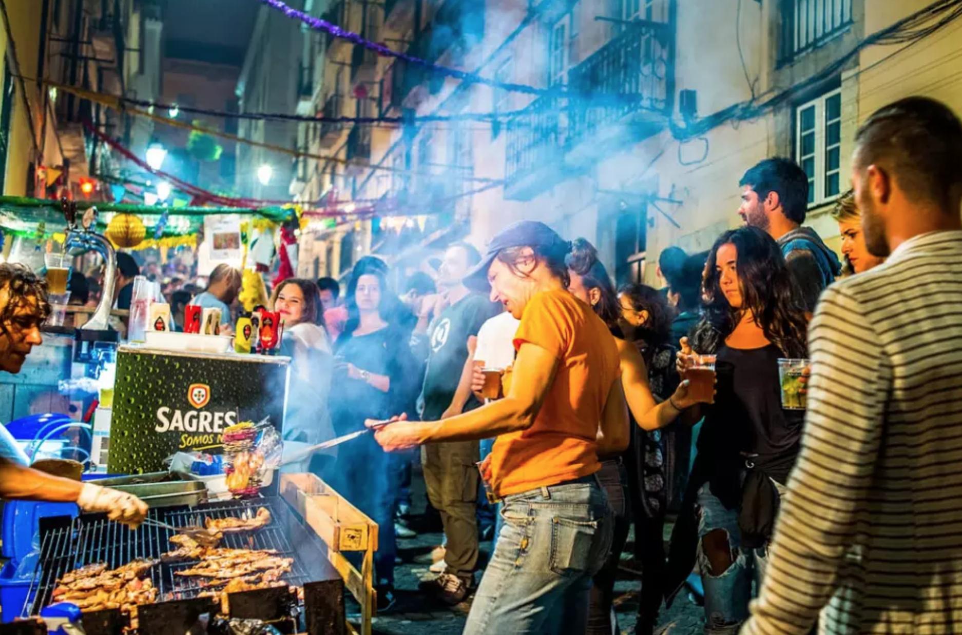 As cinco sardinhas vencedoras das Festas de Lisboa