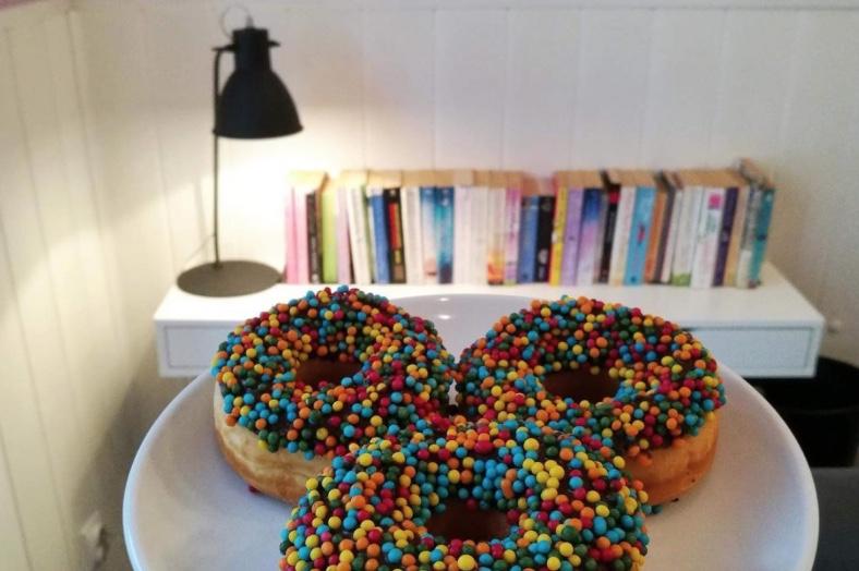 The Coffee Library: doughnuts para toda a gente