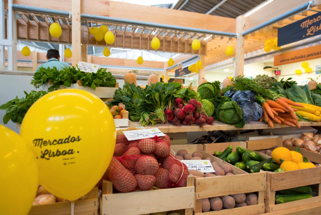 Lisboa ganha o seu primeiro mercado biológico!