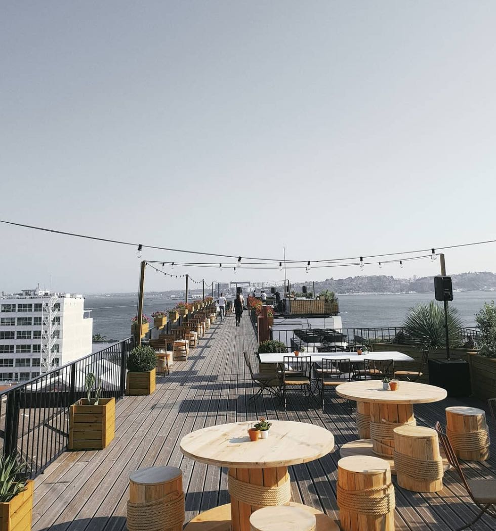 The Garden Rooftop - Lisboa Secreta