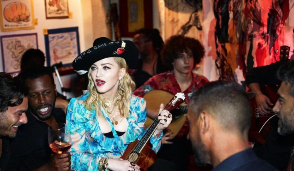 O bar favorito da Madonna
