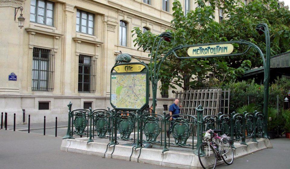 Há uma estação de metro inspirada em Paris em Lisboa