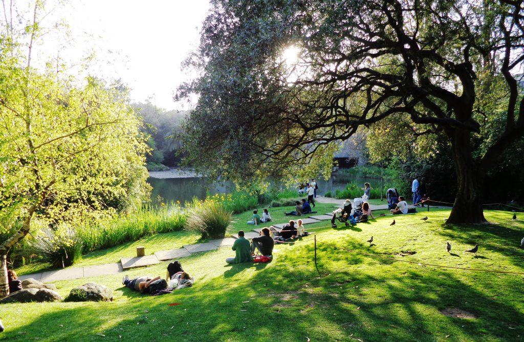 5 jardins em Lisboa para namorar