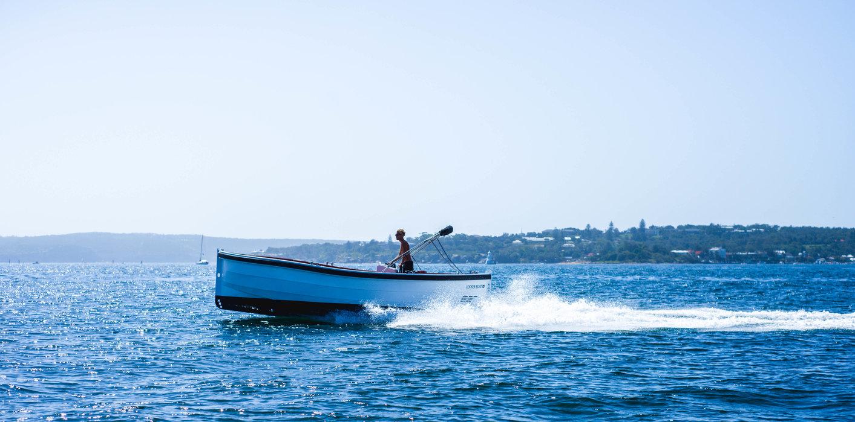 O táxi mais rápido de Lisboa é… um barco