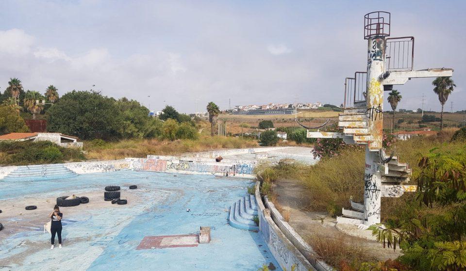O Ondaparque está abandonado há mais de 20 anos