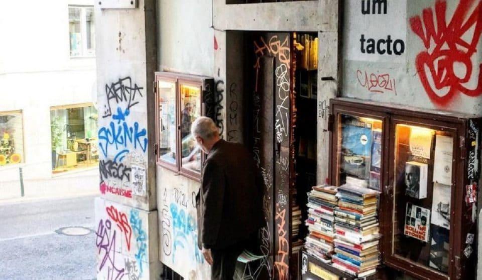 Sítios insólitos em Lisboa: Livraria do Simão, uma das mais pequenas do mundo