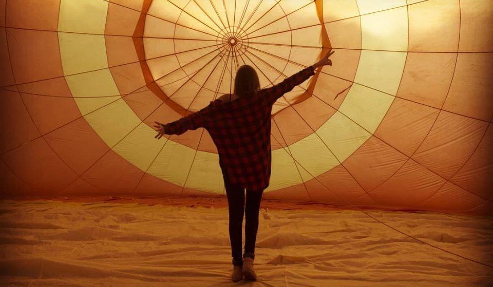 Há voos de balão gratuitos em Lisboa