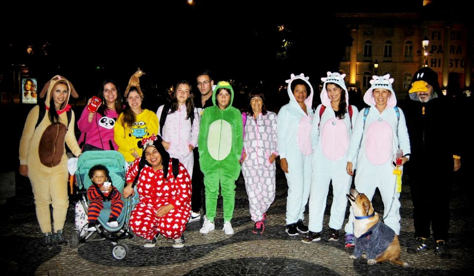 Vem aí uma caminhada em pijama por Lisboa