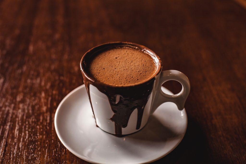 Um mês de chocolate quente grátis
