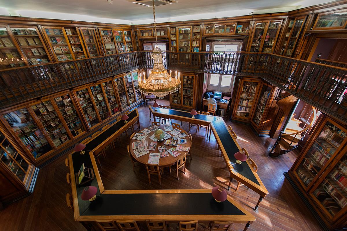A biblioteca pública mais antiga de Lisboa