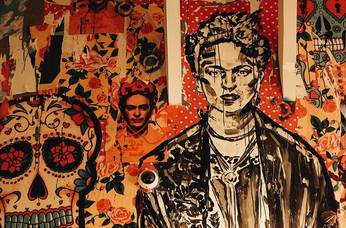 Frida Khalo subiu as escadas do El Clandestino e abancou por lá