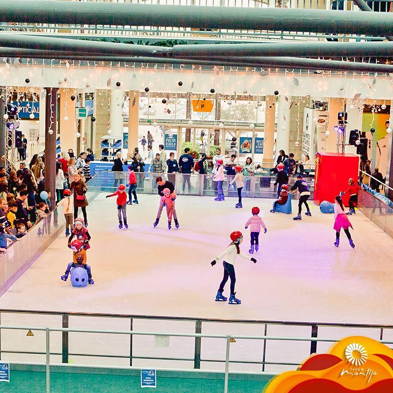 Forum Montijo abre a época das pistas de gelo
