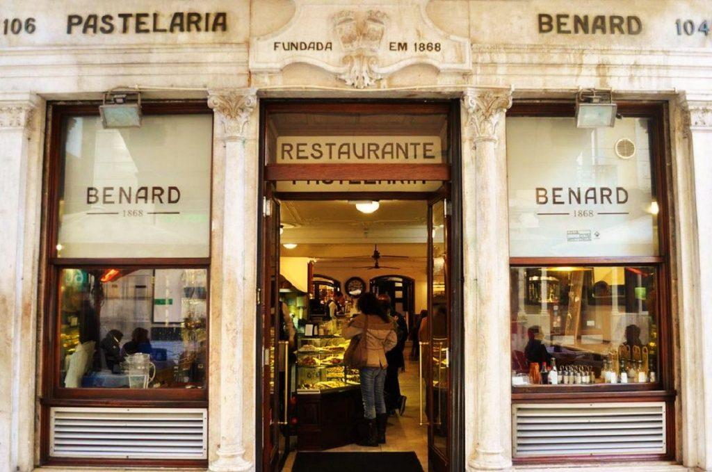 Lojas Históricas de Lisboa: Pastelaria Benard, a dos croissants deliciosos