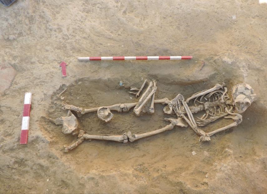 Solar dos Presuntos escondia cemitério romano com dois mil anos