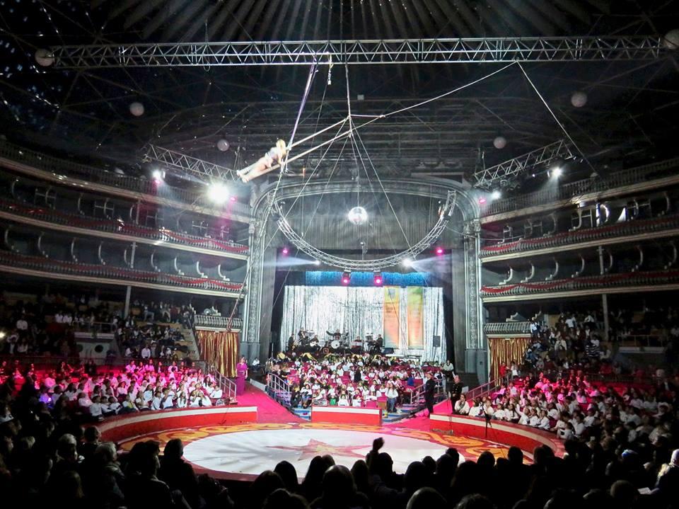 O Coliseu vai ter circo no dia de Natal