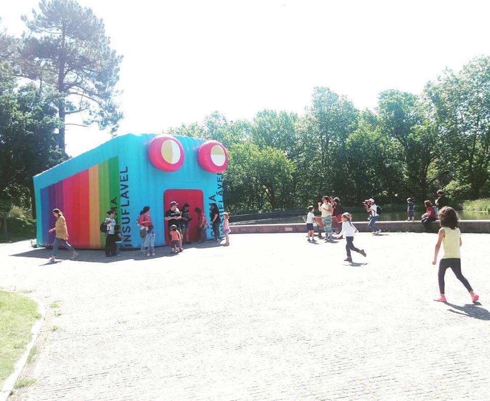 Está à chegar a Lisboa o insuflável gigante que é uma sala de cinema