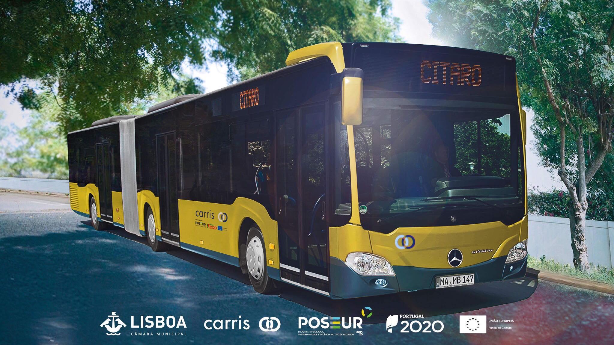 Os novos autocarros da Carris têm wi-fi grátis e são ecológicos