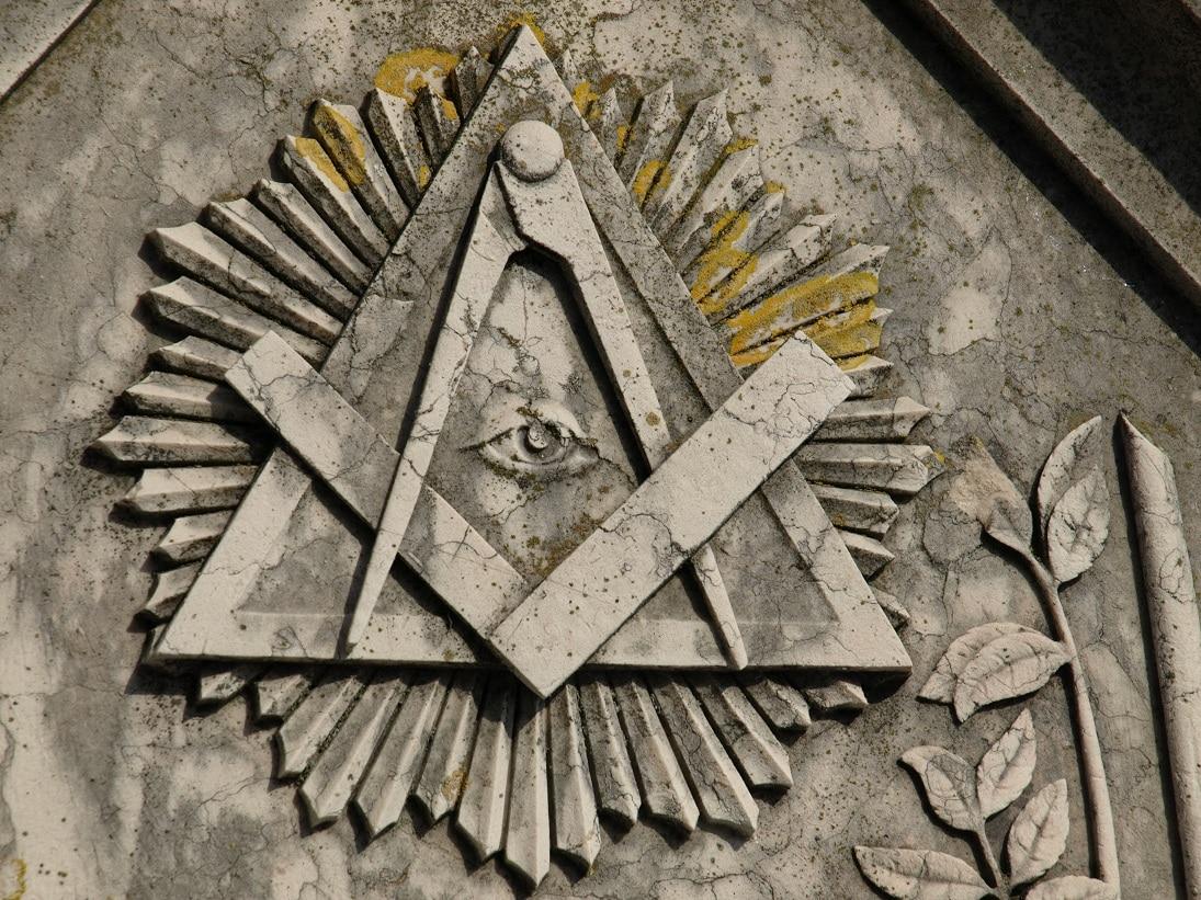 símbolo maçónico em lisboa