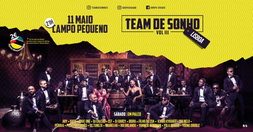 Team de Sonho III: a festa da música angolana está de regresso a Lisboa