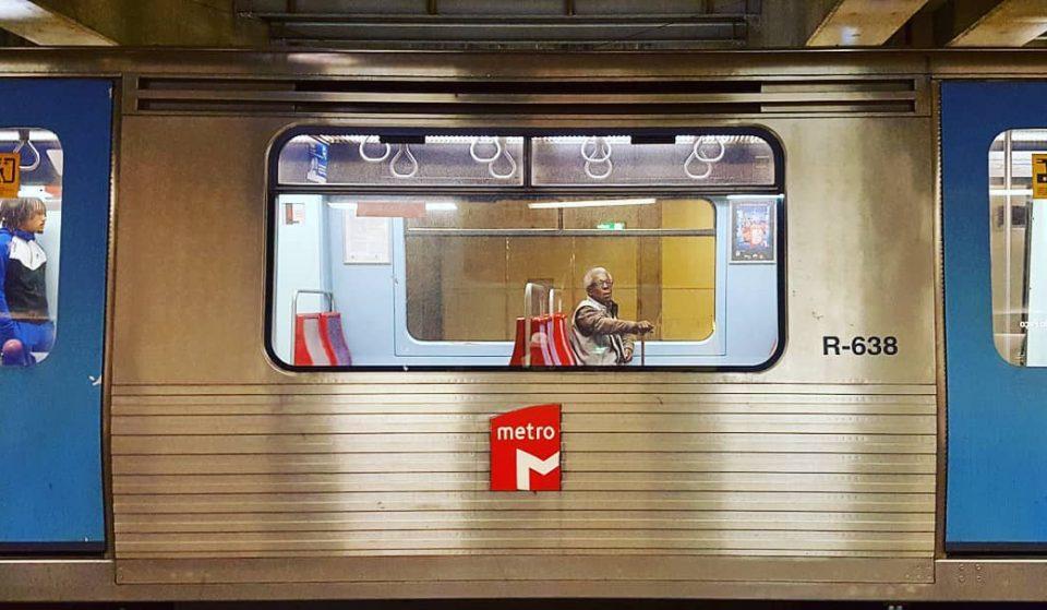 O metro e os comboios urbanos prolongam serviço na noite de Santo António