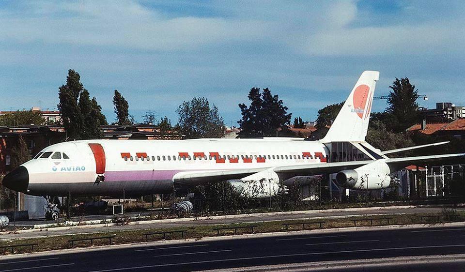 A incrível história do avião da Segunda Circular que acabou em bar de alterne