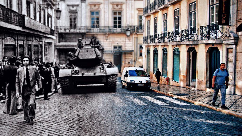 A Lisboa do Passado e do Presente: Rua Garrett
