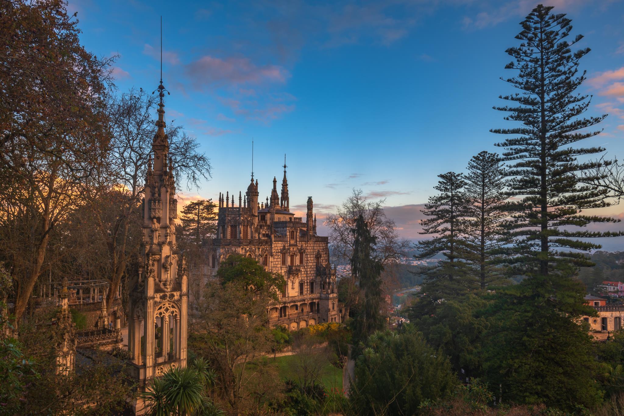 Vais poder visitar a Quinta da Regaleira à noite
