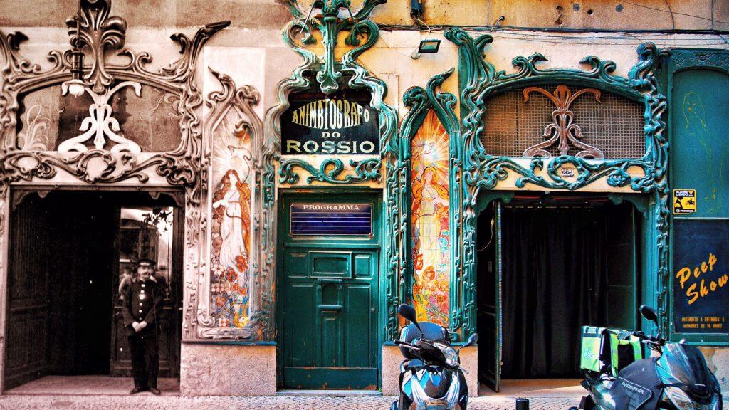 A Lisboa do Passado e do Presente: Animatógrafo do Rossio