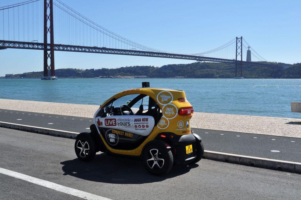 Uma viagem eletrizante por Lisboa