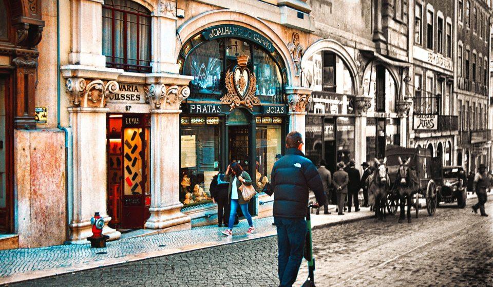 A Lisboa do passado e do presente
