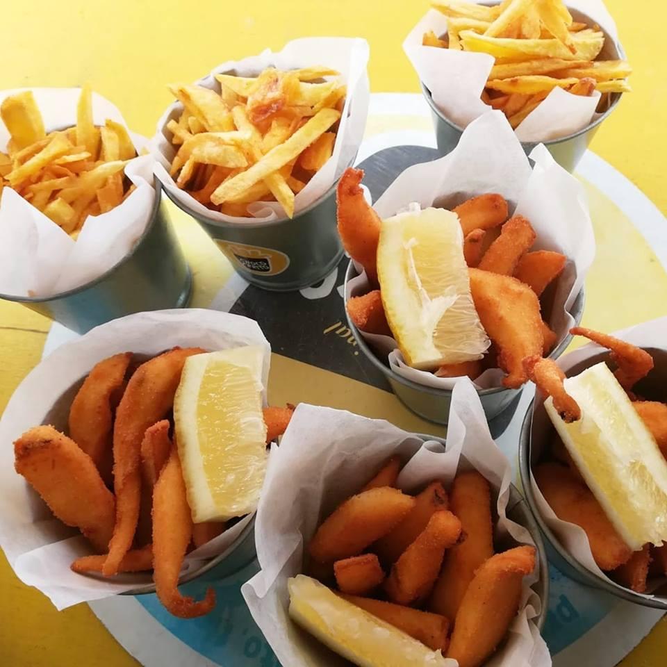 Abriu um restaurante em Lisboa só com choco frito